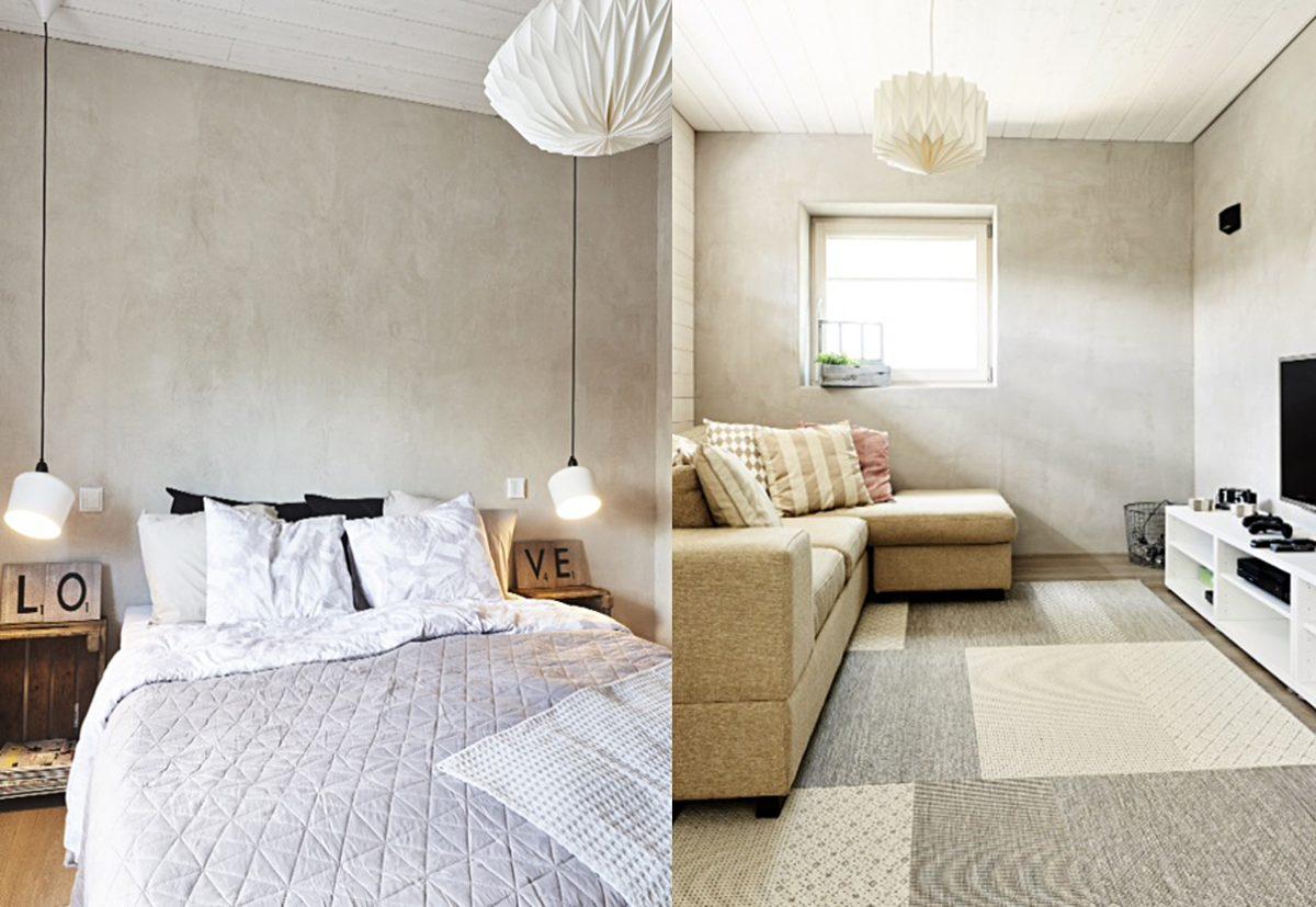 Stylish and healthy interior walls.