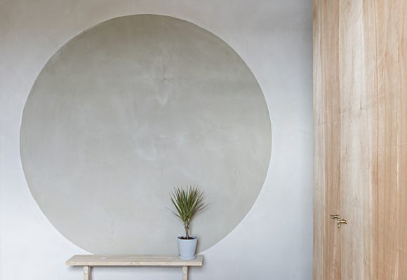 Beautiful natural clay plasters by Clayworks provide inspiration for designers and architects
