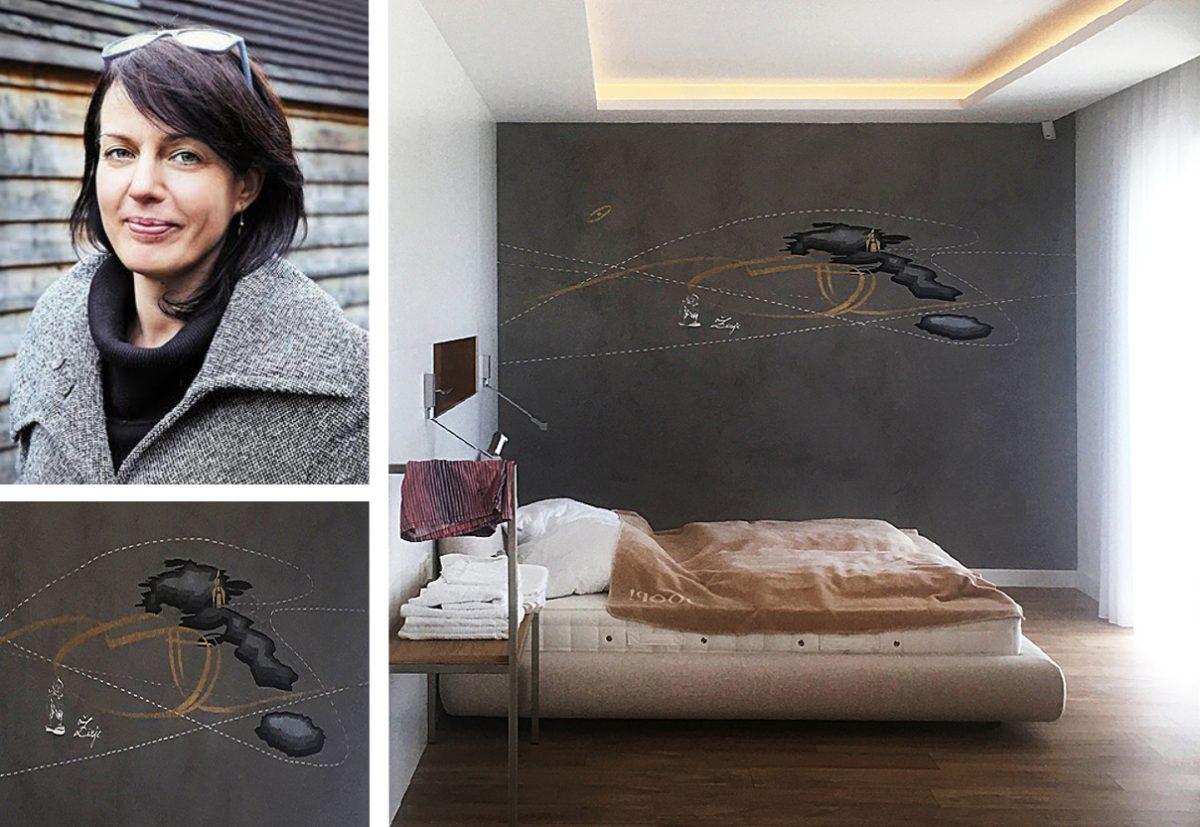 Luxury interior design using Clayworks plasters