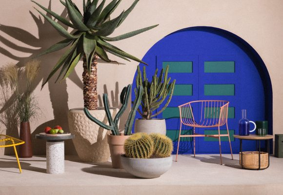 Set design using Clayworks clay plasters inspires dreamy Moroccan and Mediterranean mood-scapes.